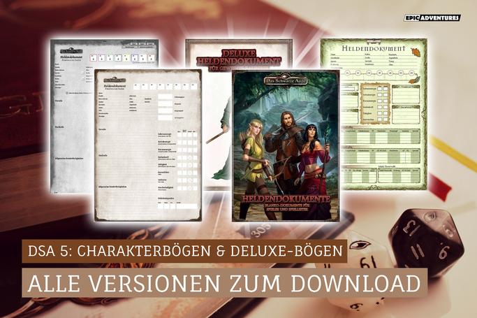DSA 5 Charakterbogen Download