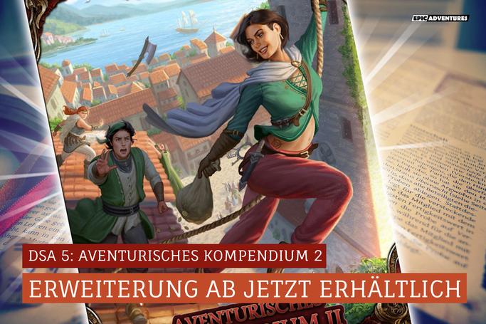 DSA 5: Aventurisches Kompendium 2 Release