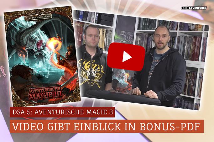DSA 5: Aventurische Magie 3 Zusatzmaterial Download