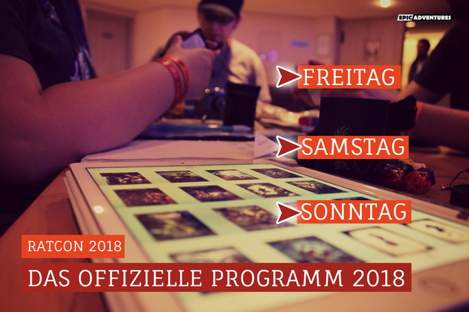 RatCon 2018: Rahmenprogramm