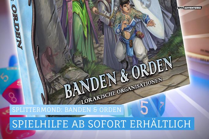 Splittermond: Banden & Orden
