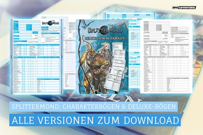 Splittermond Charakterbogen Download