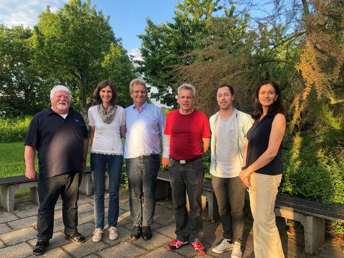 Der  neu  gewählter  Vorstand  mit Matthias  Vering  (Vorsitzender),  Grana Nawabi (stellvertretende Vorsitzende), Dennis Eidner (Schriftführer) und Kurt Kohl (Beisitzer). Neu im Vorstand vertreten ist Petra Vering als Kassenwartin.