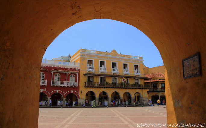 CARTAGENA DE INDIAS - PLAZA DE LA COTCHES