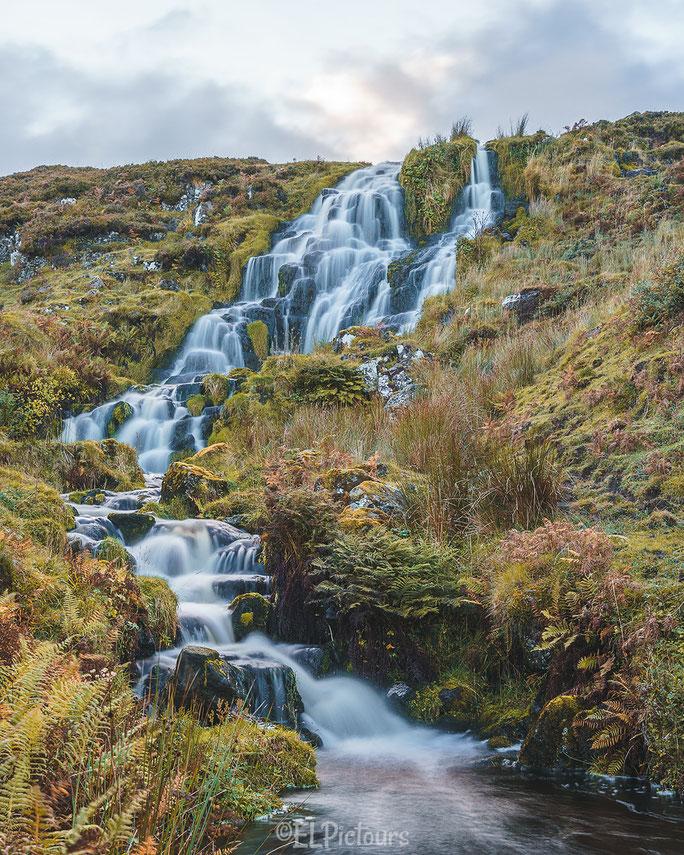 Wasserfall Ilse of Skye, Schottland