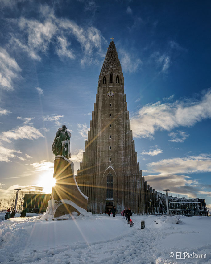 Hallgrimskirkja, Reykjavik Island
