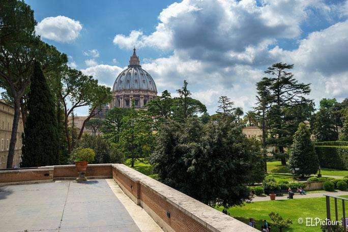 Parkanlage Vatikanstaat, Rom, Italien