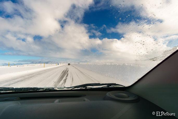 Ringstraße Richtung Süden, Island