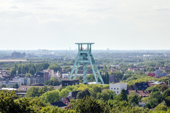 Zechturm des Deutschen Bergbau-Museums in Bochum; Detektive der Kurtz Detektei Bochum