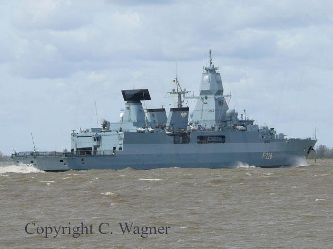 Fregatte Klasse 124 Hamburg
