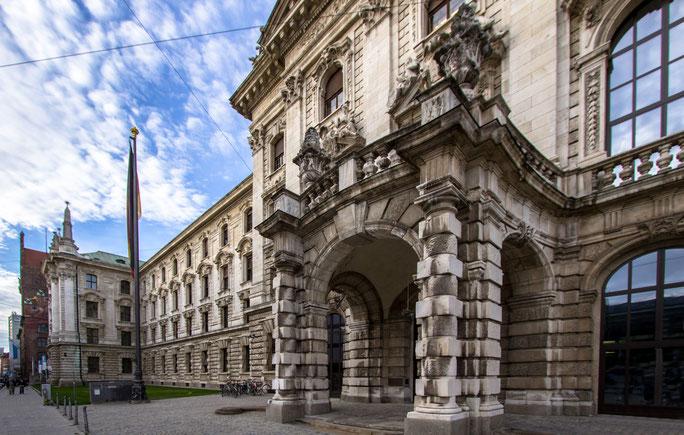 Justizpalast München, Privatdetektiv München, Wirtschaftsdetektei München