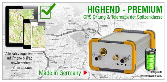 GPS Ortung,  Telematik, Tracker, Fahrzeugortung, Ortungssystem