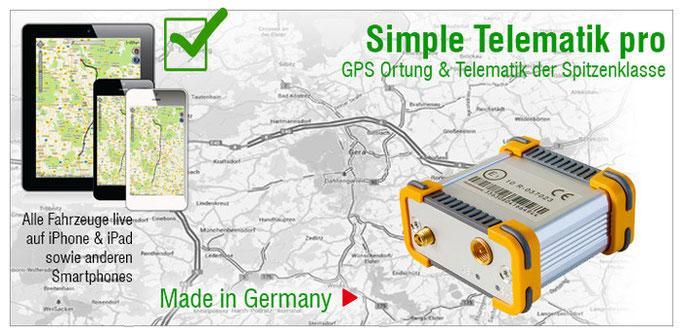 Simple Telematik pro | GPS Ortung & Telematik der Spitzenklasse
