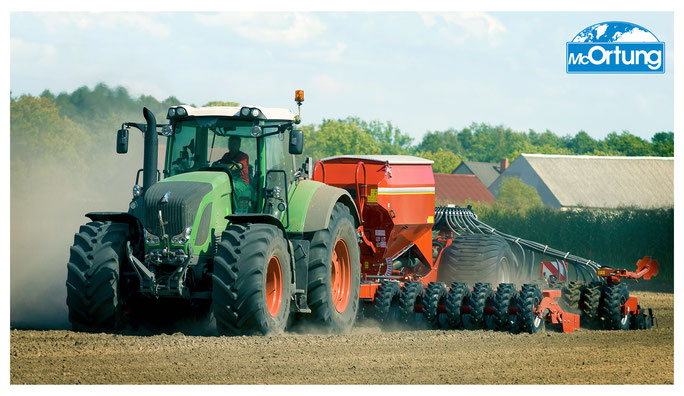 Landmaschinen-Ortung mit GPS in Echtzeit