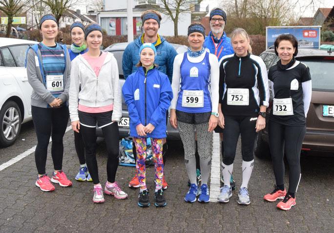 Laufteam Rotenburg beim Silvesterlauf Kaufungen 2018