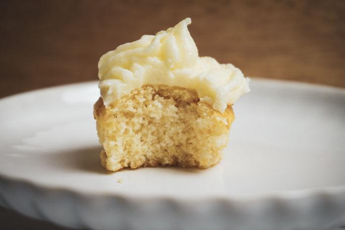 Cupcake mit Frosting