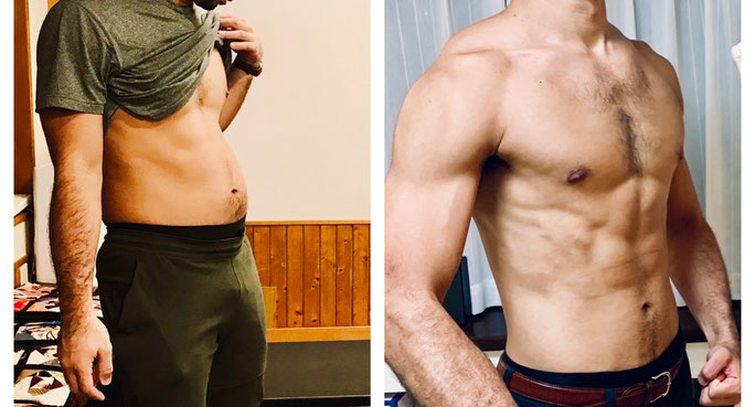 3ヶ月で10kg減、体脂肪率10%へ!!