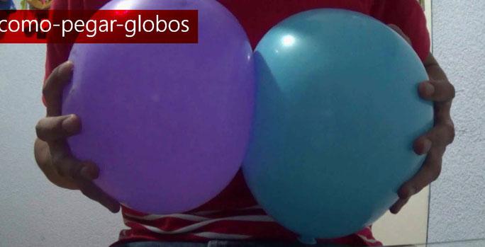 mejores formas de pegar globos