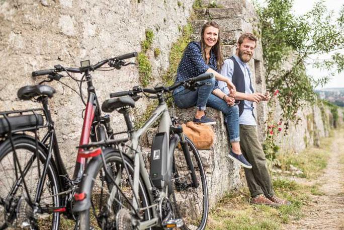 Winora City / Trekking e-Bikes mit Yamaha Motor 2017