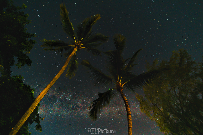 Mauritius Grand Baie Milchstraße