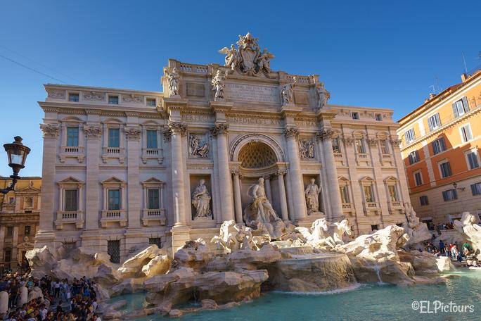 Trevibrunnen, Rom Italien