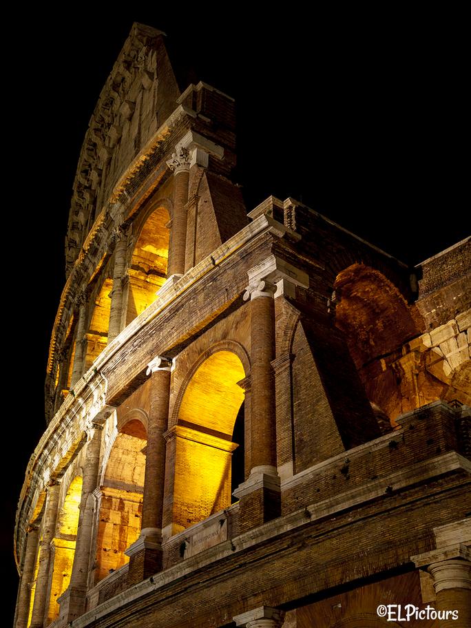 Colloseum bei Nacht, Rom Italien