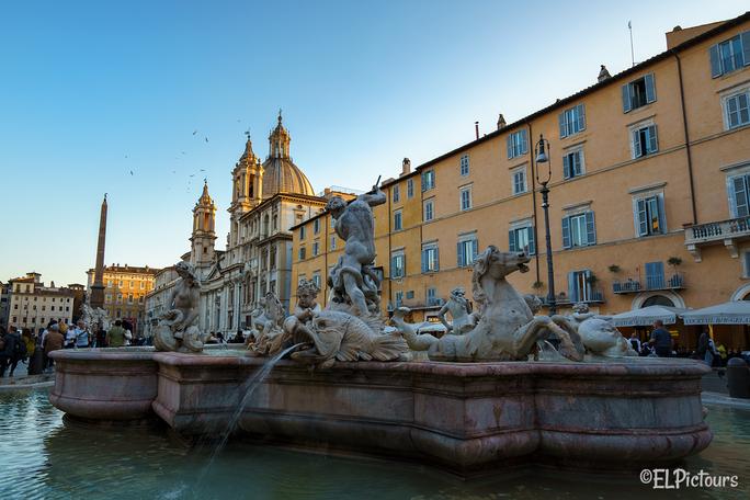 Piazza Navona, Rom Italien