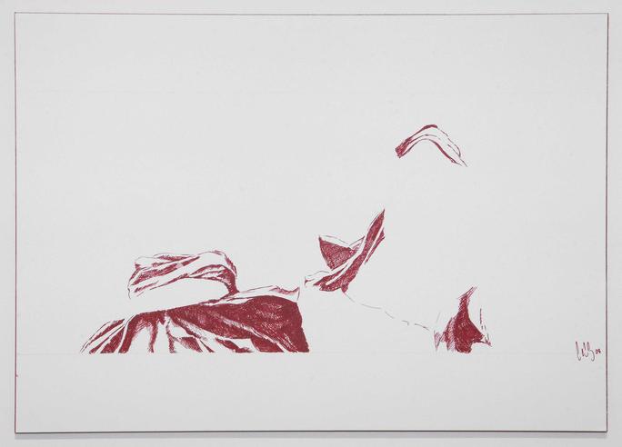 Zwei aus 300, 2008, Tinte auf Papier, A3