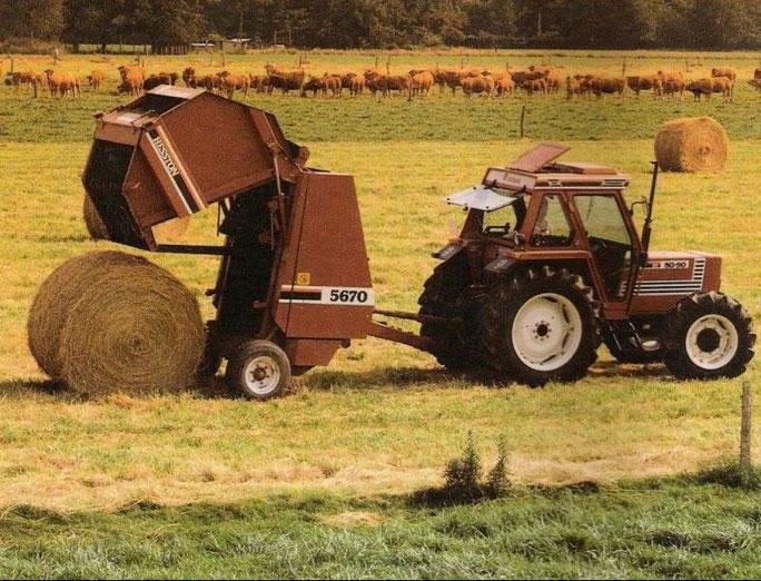 Fiatagri 70-90 DT mit Fiatagri 5670