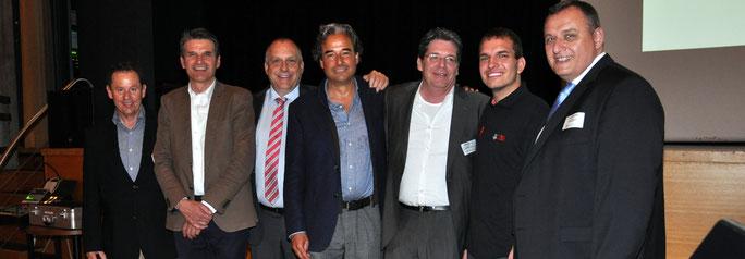 R. Kluker, Dr. St. Siegrist,  K. Seiler, R. Wötzel, R. Jäggi, F. Helfenstein, M. Di Giovanni