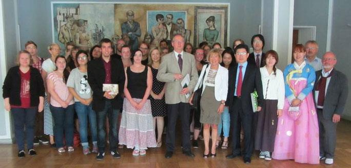 Veranstaltung mit der Botschaft der Republik Südkorea Besuch des Gesandten HEO Eon-wook - Botschaft der Republik Korea in Berlin