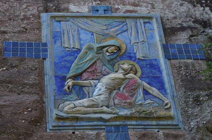 Jésus est détaché de la croix