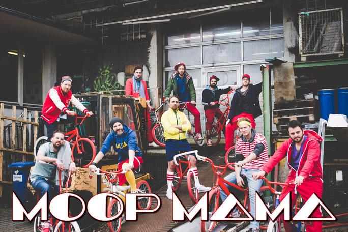 MOOP MAMA auf dem Brass & Blasmusikfestival Seepark Pfullendorf 15.-17. Juni 2018