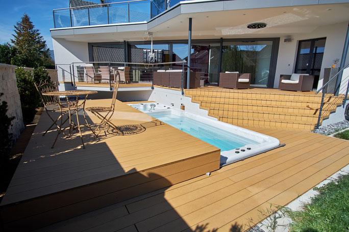 Terrassenböden WPC Primewood Holzimitate