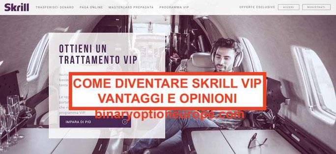 Come diventare Skrill VIP: commissioni, prelievi, mastercard gratis