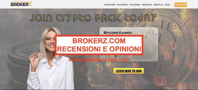 Brokerz.com truffa recensioni opinioni broker affidabile