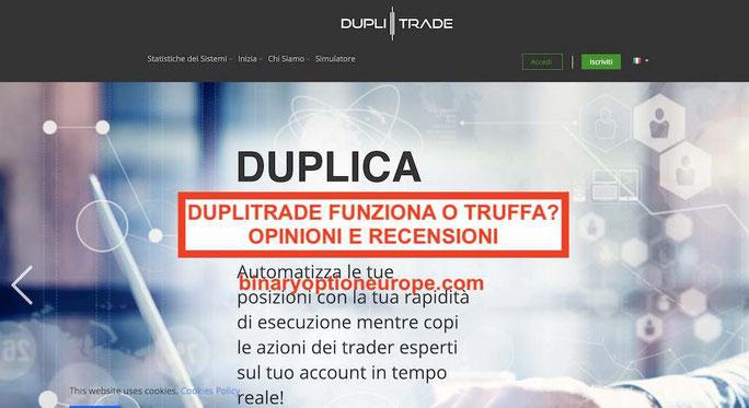 DupliTrade opinioni recensioni: miglior copia trading Avatrade 2019-2020