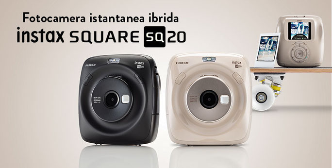 Fujifilm Instax Square SQ20 disponibile in Sardegna