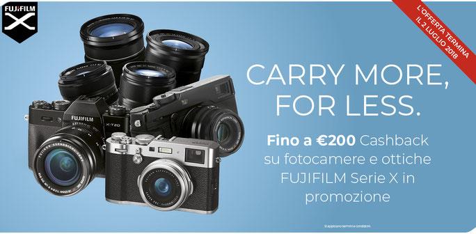 centro-fujifilm-sardegna offerta cashback