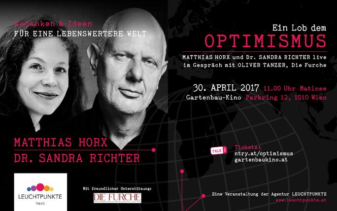 Leuchtpunkte Talks: Matthias Horx und Dr. Sandra Richter