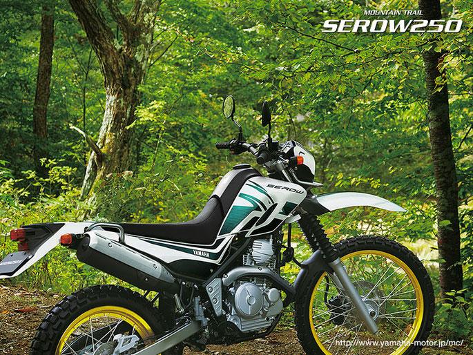 ヤマハ セロー250 SEROW250 2012