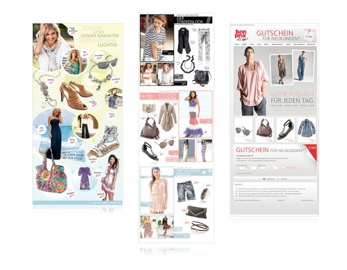 Bonprix // Newsletter Design