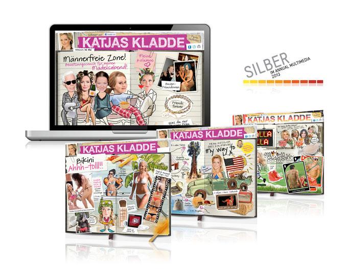 Katjas Kladde // Digitales Web-Tagebuch