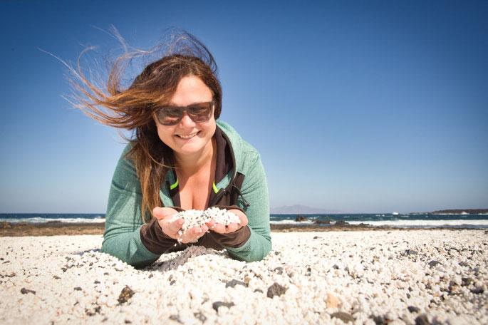 Der Popcorn Beach bei Corralejo