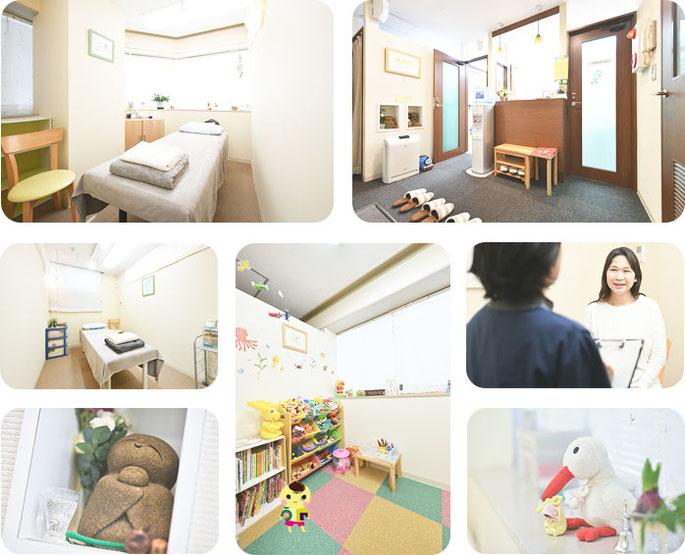 横浜駅近くの不妊専門鍼灸院の院内の様子