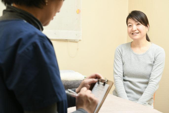 妊娠後、産後も寄り添える治療