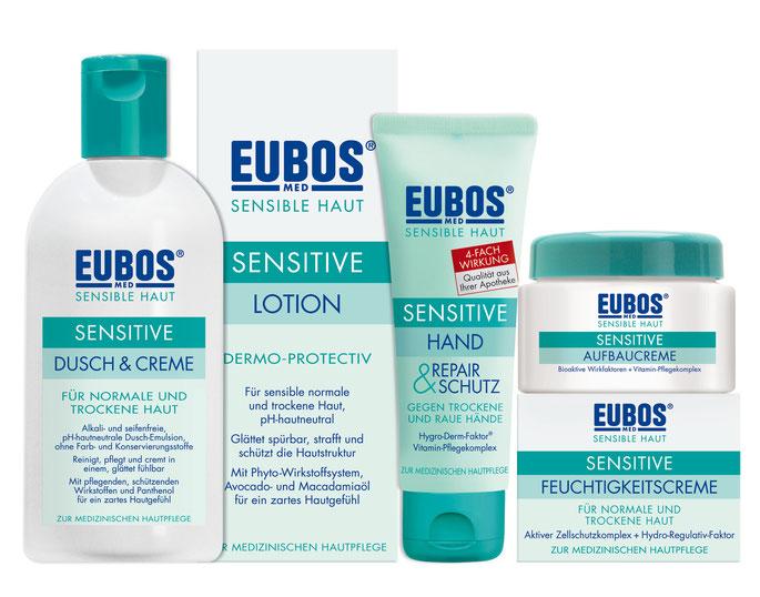 Eubos Haut-Pflege-Produkte