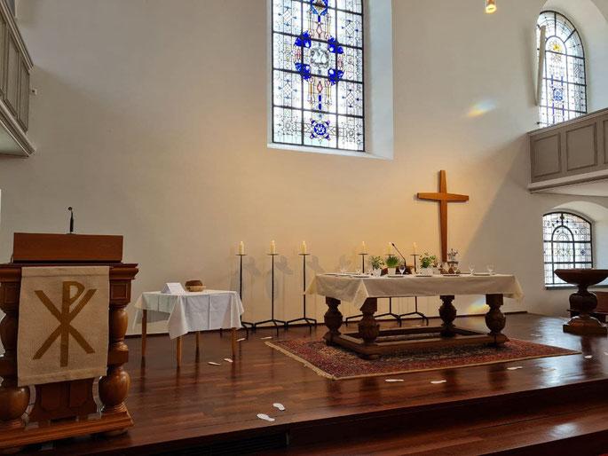 """""""Auf Tuchfühlung"""" - in der Heilig-Geist-Kirche Geldern ©wandelsinn"""