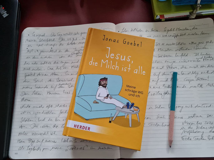 Jesus, die Milch ist alle - ein Buch von Jonas Goebel im Herder Verlag @wandelsinn