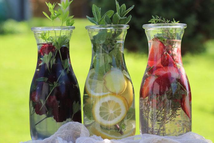 Ideen für Infused Water